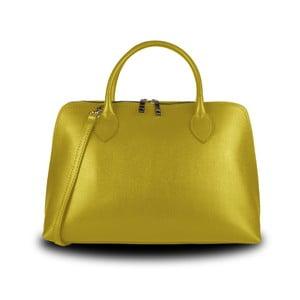 Žlutá kabelka z pravé kůže JOHN FISH Cheers