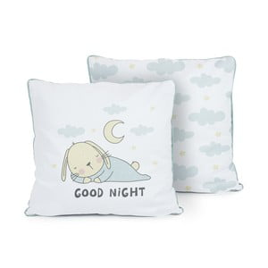 Oboustranný polštář Tanuki Good Night, 50x50cm