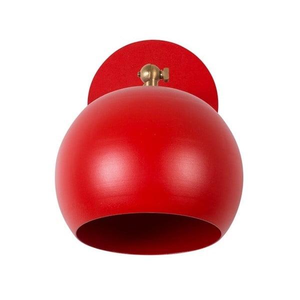 Červené nástěnné svítidlo Cup