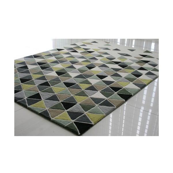 Vlněný koberec Papina Green, 140x200 cm