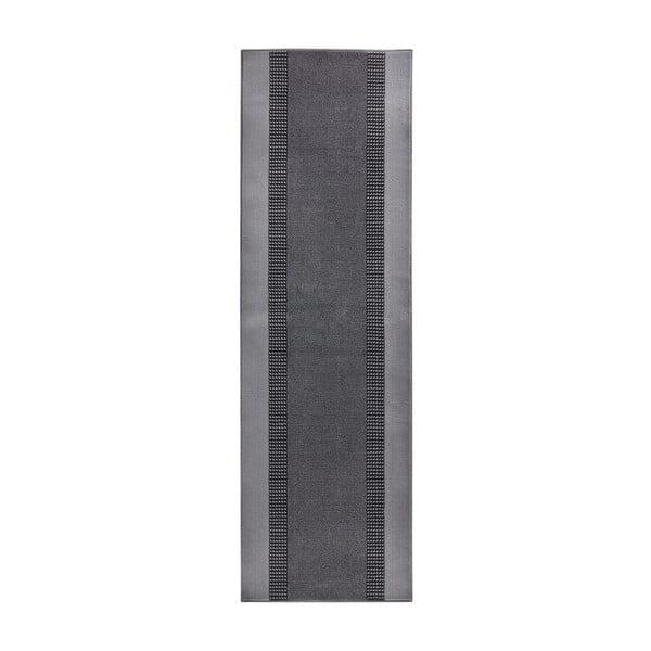 Šedý běhoun Hanse Home Monica, 80x400 cm