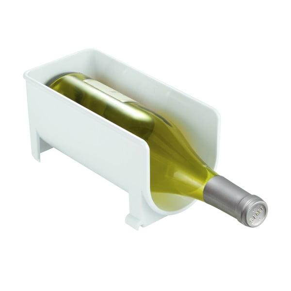 Stojan na lahev vína Clarity White, 20x10 cm