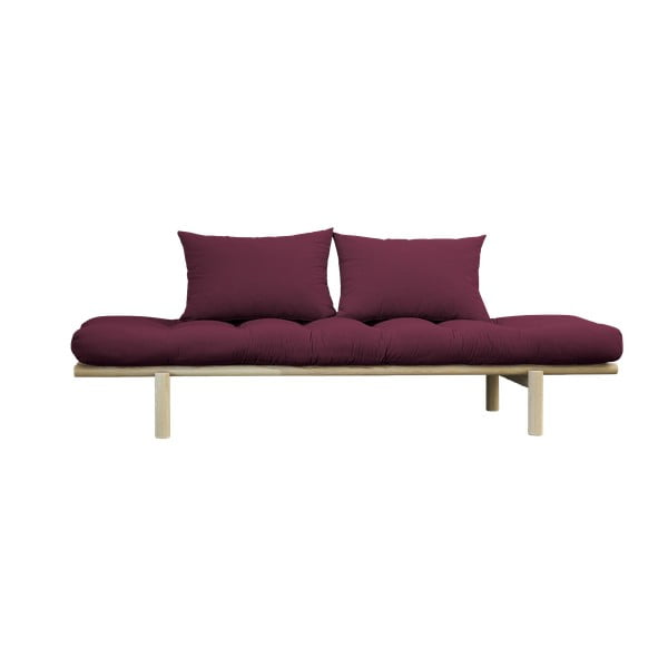 Pohovka Karup Design Pace Natural/Light Bordeaux