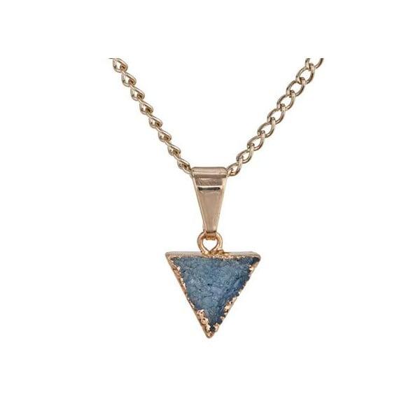 Náhrdelník s modrými minerály Decadorn