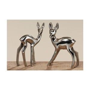 Sada 2 dekorativních sošek Boltze Bambi