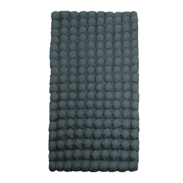 Sivomodrý relaxačný masážny matrac Linda Vrňáková Bubbles, 110 × 200 cm