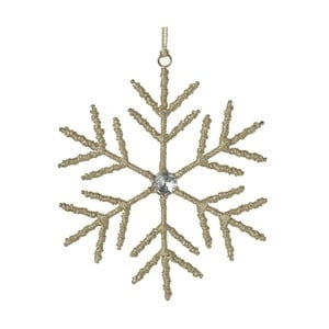 Závěsná vánoční dekorace Parlane Jute Snowflake