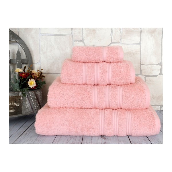 Lososový ručník Irya Home Classic, 30x50 cm