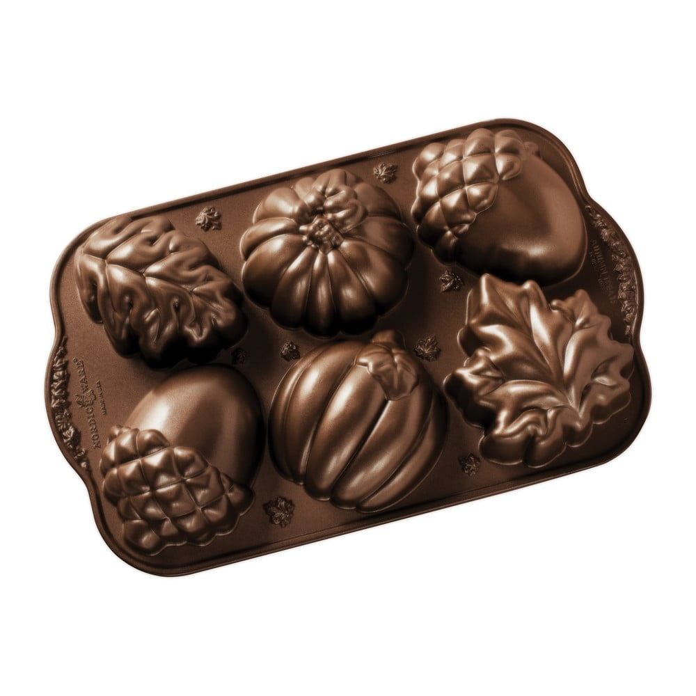 Forma na 6minibábovek Nordic Ware Autumn Sweets, 0,7l