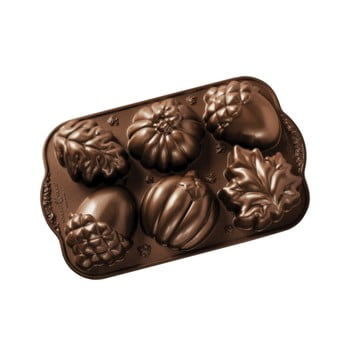 Formă pentru 6 mini prăjituri Nordic Ware Autumn Sweets, 0,7 l imagine