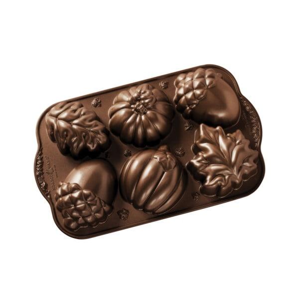 Forma na 6 minibáboviek Nordic Ware Autumn Sweets, 0,7 l