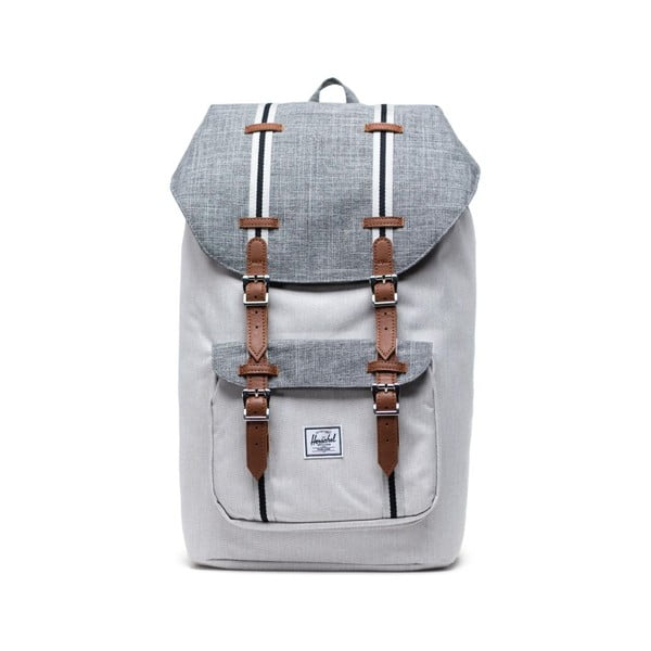 Jasnoszary plecak Herschel Little America, 25 l