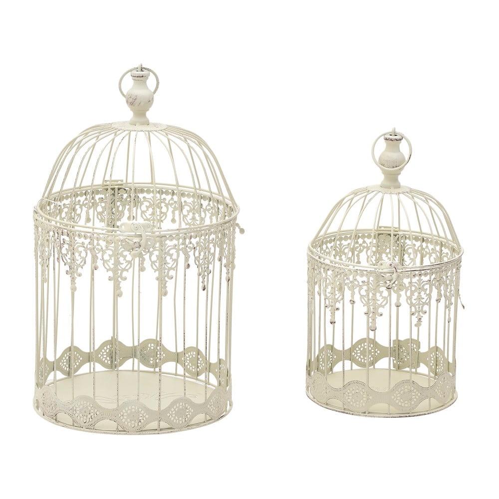 Sada 2 kovových luceren InArt Cage, 25 x 47 cm