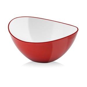 Červená salátová mísa Vialli Design, 25 cm