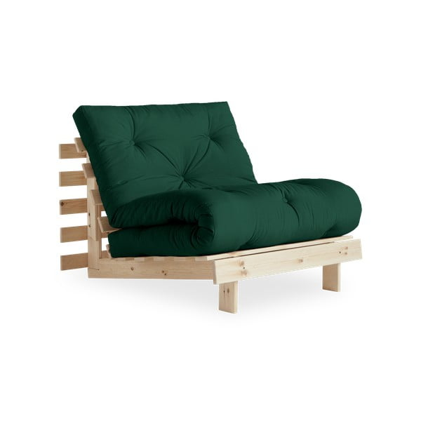 Variabilné kreslo Karup Design Roots Raw/Forest Green