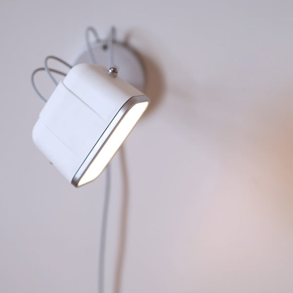 Nástěnná lampa SwabDesign Mob, červená