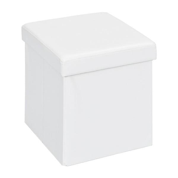 Bílý rozkládací puf/lůžko 13Casa Fold