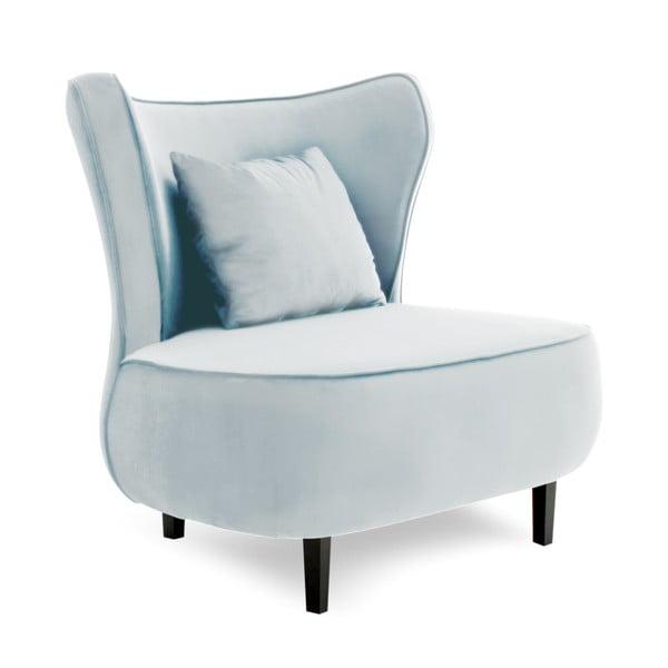 Modrošedé křeslo Vivonita Douglas Love Seat