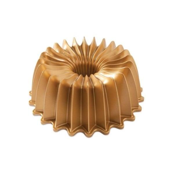 Formă pentru guguluf Nordic Ware Brilliance, 2,4 l, auriu