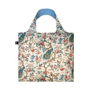 Skládací nákupní taška s kapsičkou LOQI Peacock