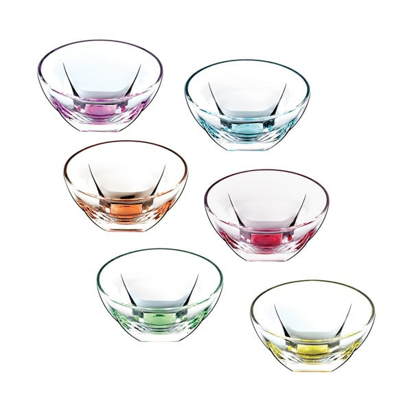 Set 6 boluri RCR Cristalleria Italiana Cosima