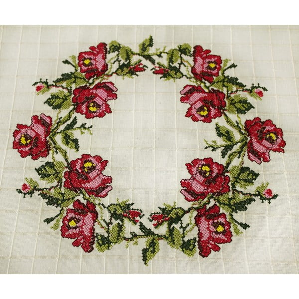 Ubrus Rose, 160x160 cm