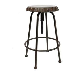 Kovová stolička Tabouret Vintage