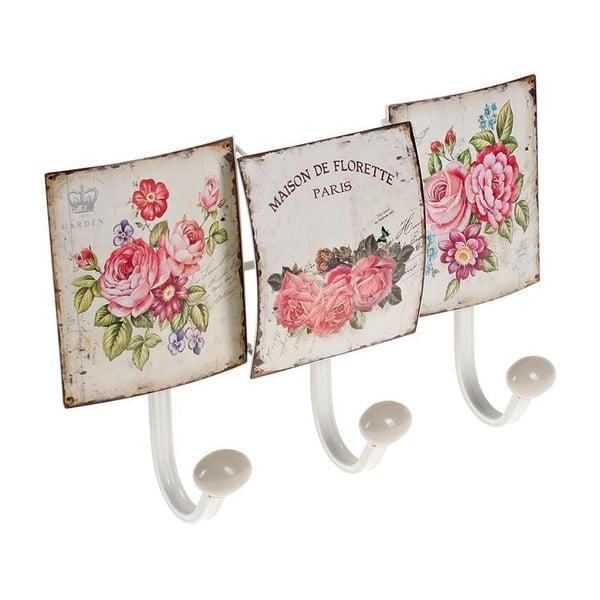 Háčky na stěnu Flowers Hook