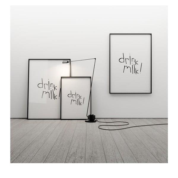 Plakát Drink milk, 50x70 cm