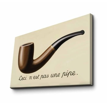 Reproducere tablou pe pânză René Magritte, 70 x 45 cm