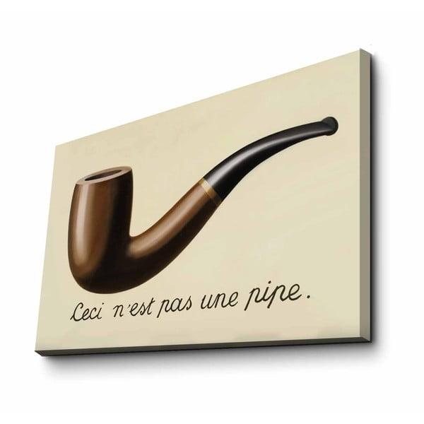 Fali vászon kép René Magritte másolat, 70 x 45 cm