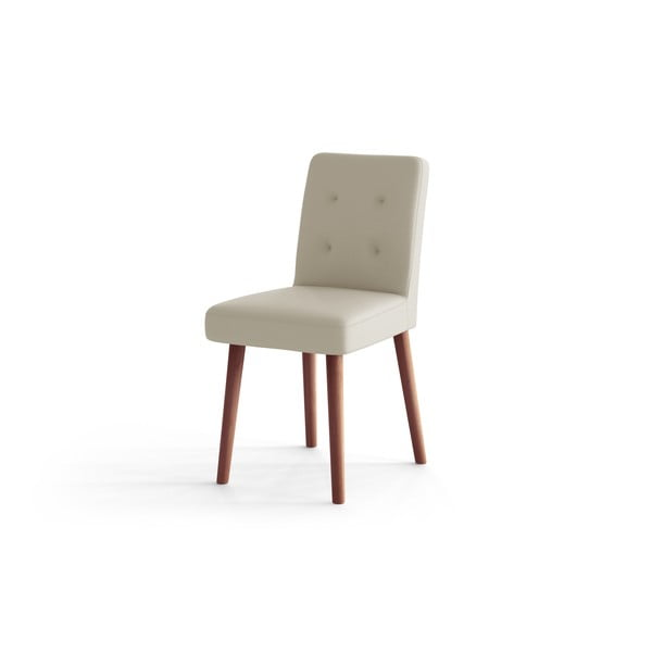 Krémově bílá jídelní židle Rodier Haring