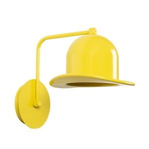 Žluté nástěnné svítidlo Mini Hat Wall Lamp Rastoro
