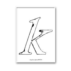Autorský plakát Karlek, A4
