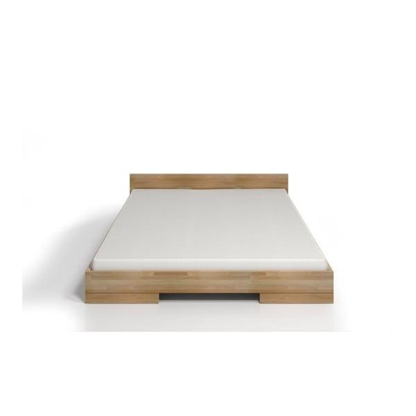 Pat dublu din lemn de fag SKANDICA Spectrum, 160 x 200 cm