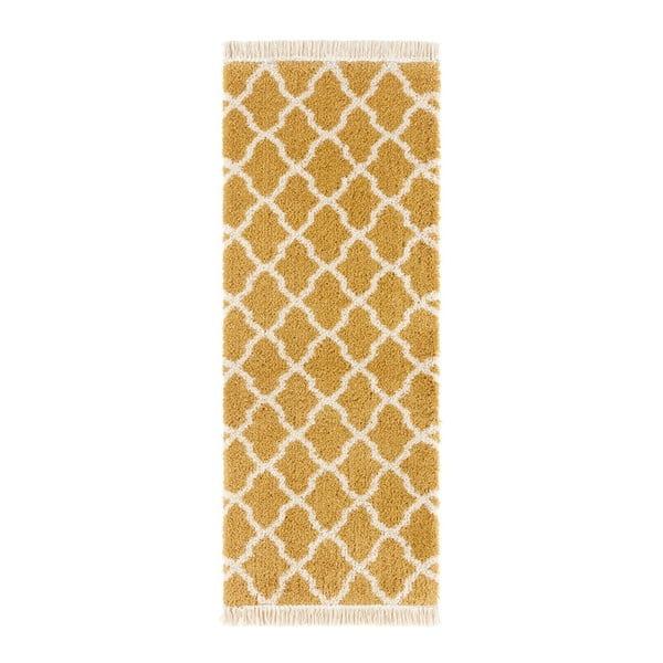 Oranžový běhoun Mint Rugs Pearl, 80x200cm