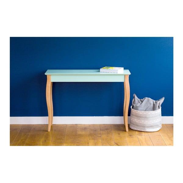 Světle tyrkysový konzolový stolek Ragaba Lillo, šířka85cm