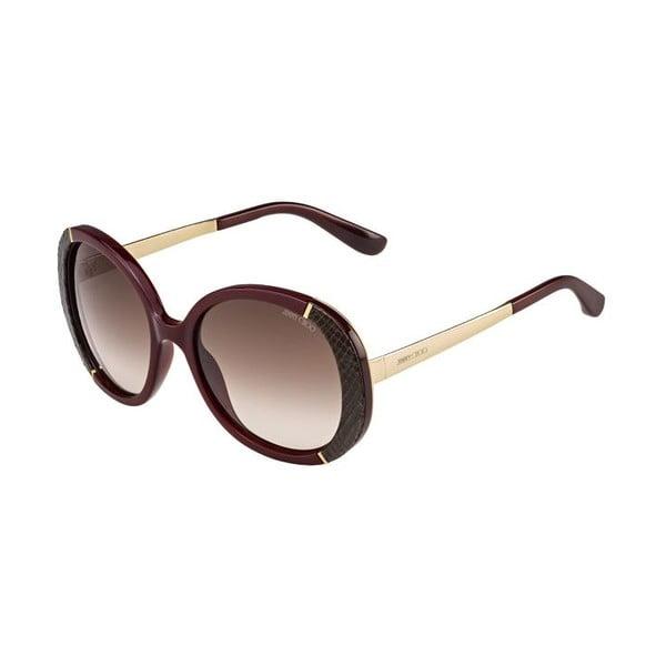 Sluneční brýle Jimmy Choo Millie Rose Gold/Brown