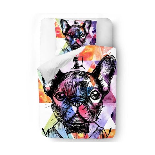 Povlečení Dog with Cylinder, 140x200 cm