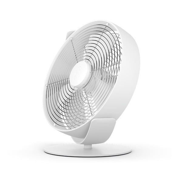 Bílý stolní ventilátor StadlerForm Tim
