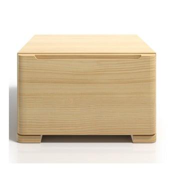 Noptieră din lemn de pin cu sertar SKANDICA Sparta imagine
