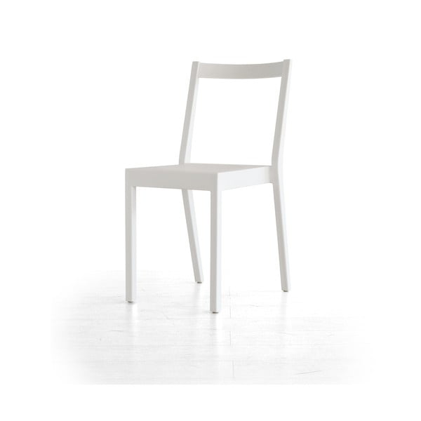 Jídelní židle Kent, bílá
