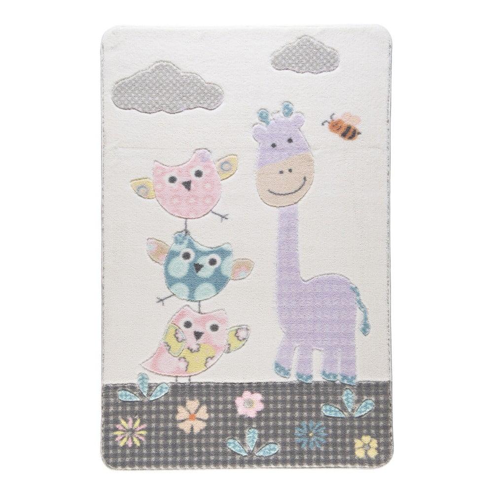 Dětský koberec Confetti Owls, 133x190cm