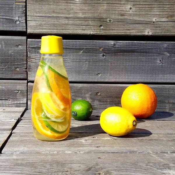 Mléčně bílá skleněná lahev ReTap s doživotní zárukou, 800ml