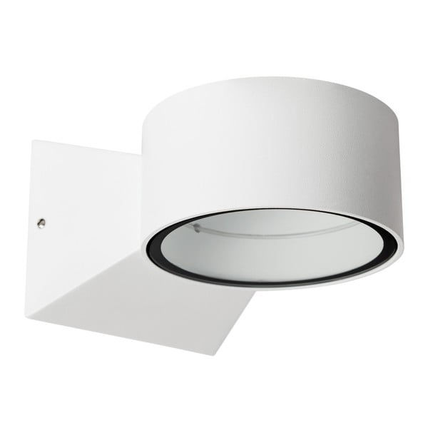Biały kinkiet SULION Fluvial, 13x9 cm