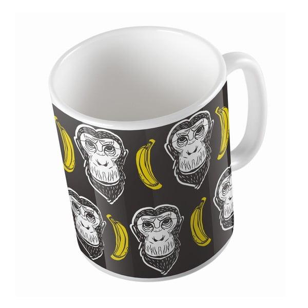 Keramický hrnek My Buddy Monkey, 330 ml