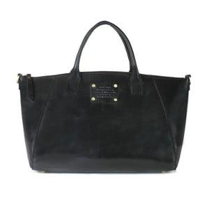 Geantă din piele O My Bag Fly Violet Maxi, negru