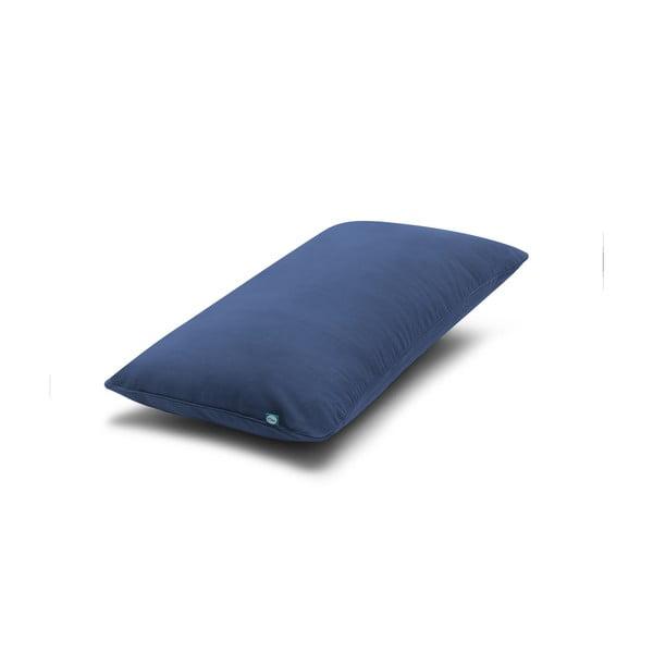 Față de pernă Mumla Basic, 30 x 60 cm, albastru marin