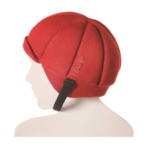 Čepice s ochrannými prvky Ribcap Jackson Red, vel. M