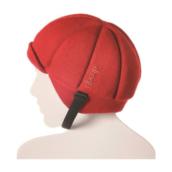 Čepice s ochrannými prvky Ribcap Jackson Red, vel. L